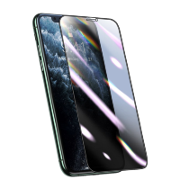 Плёнка Baseus 0.25mm Curved Privacy Антивор для iPhone XS Max/11 Pro Max Чёрная