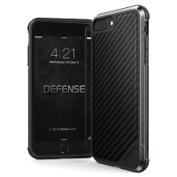 Чехол X-Doria Defense Lux для iPhone 7/8 Plus Black Carbon