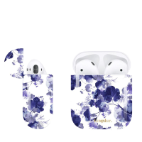 Чехол Kingxbar для Apple Airpods Paint  Flora Style